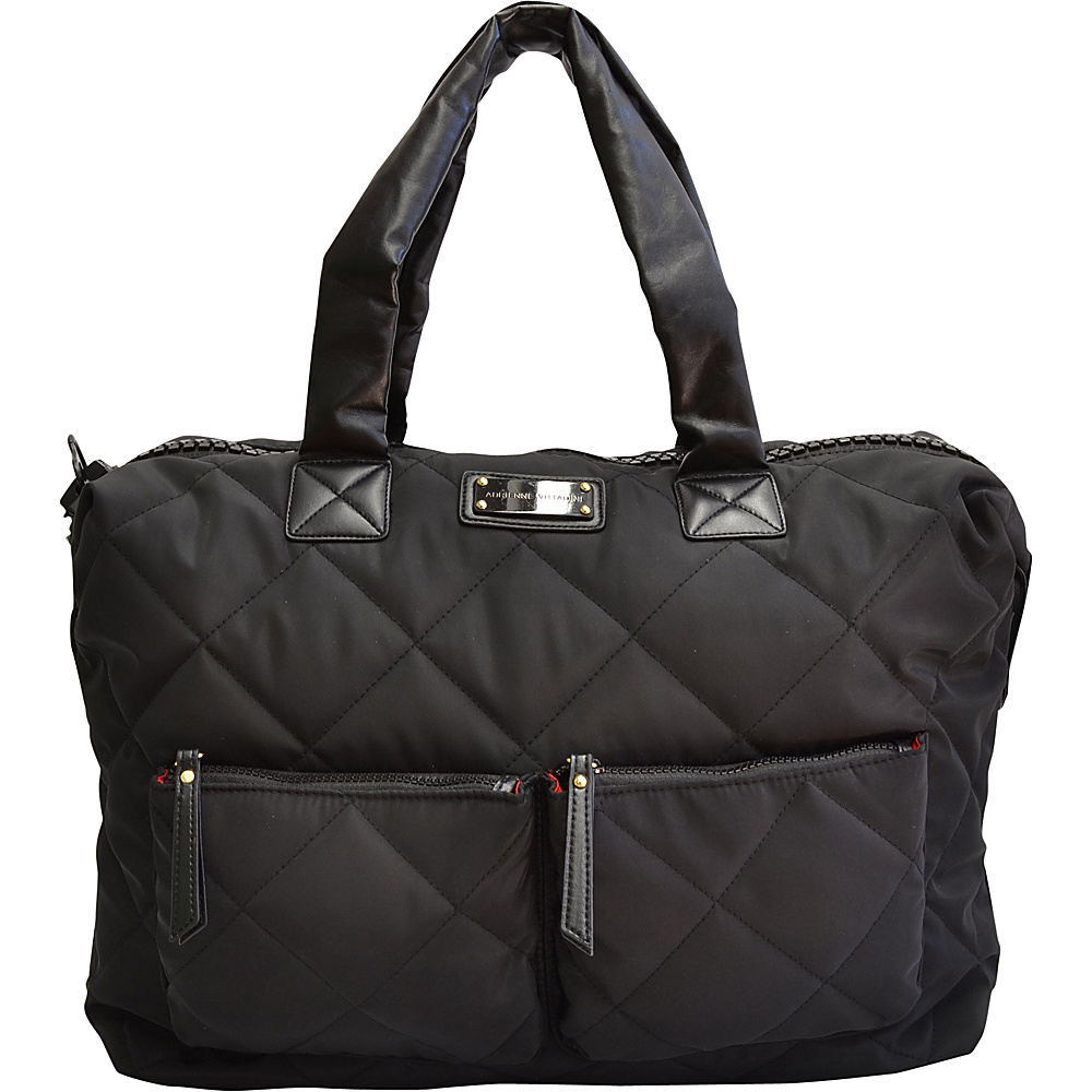 Adrienne Vittadini Multi Compartment Duffle Black - Adrienne Vittadini All Purpose Duffels