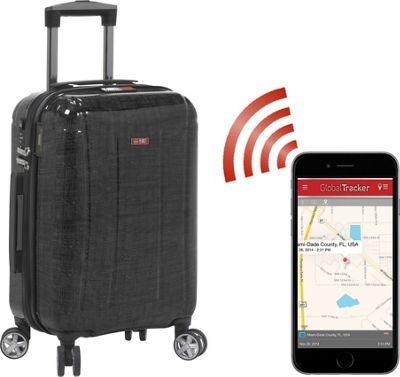 Planet Traveler USA USA Smart Tech Case 19 inch Carry On Black - Planet Traveler USA Hardside Carry-On