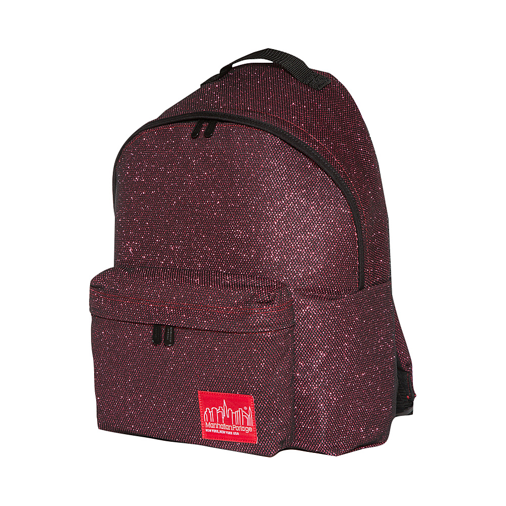 Manhattan Portage Midnight Big Apple Backpack (MD) Burgundy - Manhattan Portage Everyday Backpacks - Backpacks, Everyday Backpacks
