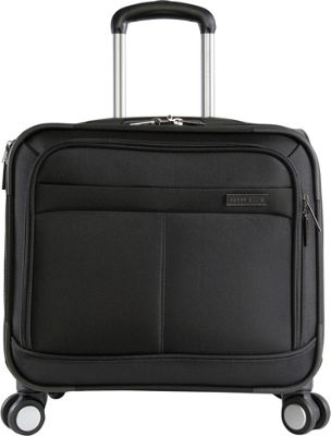 Perry Ellis Perry Ellis 8-Wheel Spinner Mobile Office Business Tote Black - Perry Ellis Wheeled Business Cases