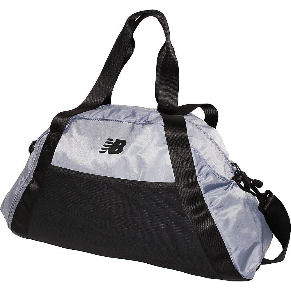 New Balance Women's Gym Bag Silver Mink - New Balance Gym Duffels