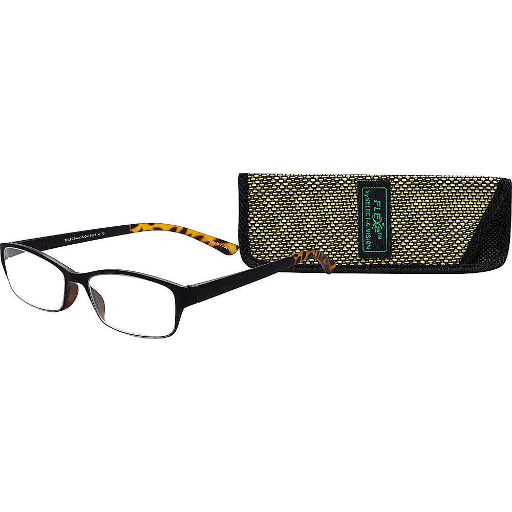 Select A Vision Flex 2 Reading Glasses 1.50 Black Select A Vision Sunglasses