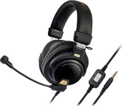 Audio Technica Closed-Back Premium Gaming Headset Black - Audio Technica Headphones & Speakers