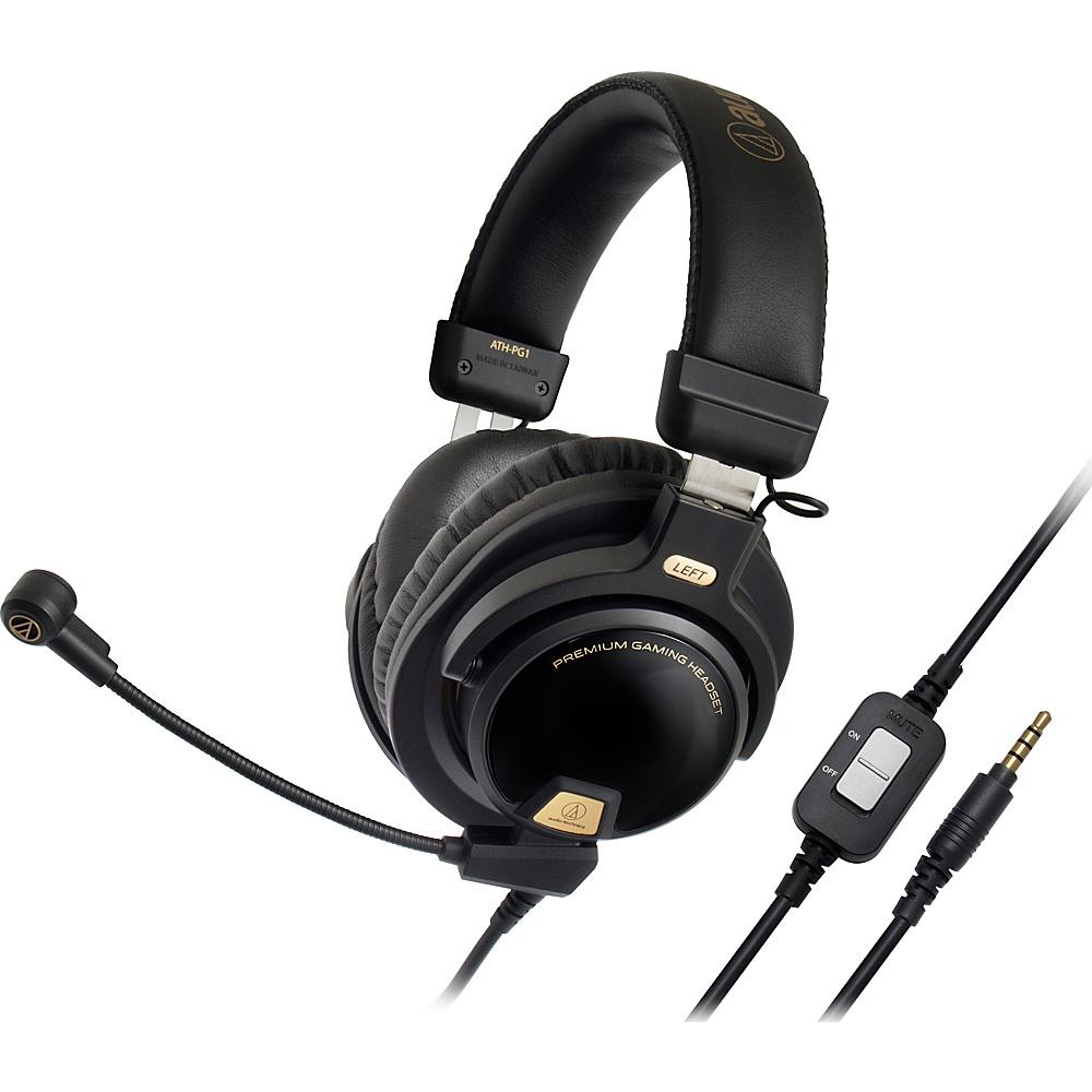 Audio Technica Closed Back Premium Gaming Headset Black Audio Technica Headphones Speakers