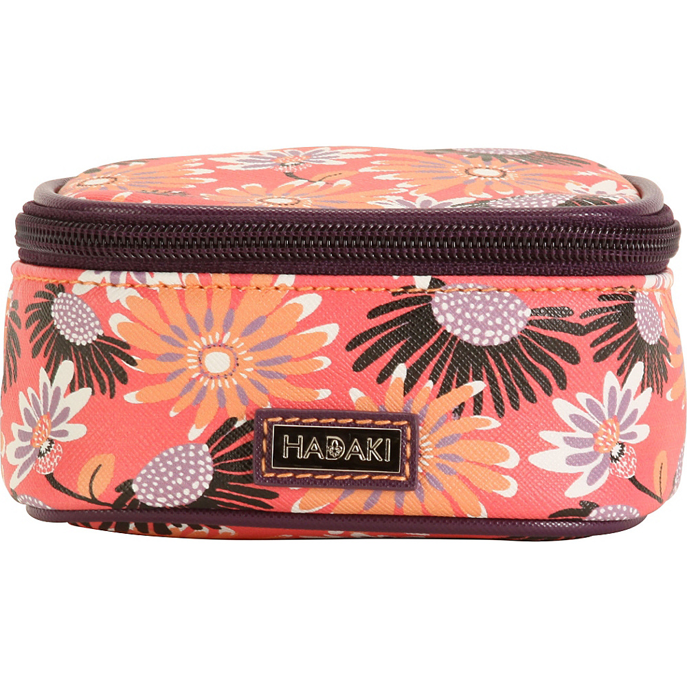 Hadaki Vegan Leather Jewelry Train Case Daisies - Hadaki Travel Organizers - Travel Accessories, Travel Organizers