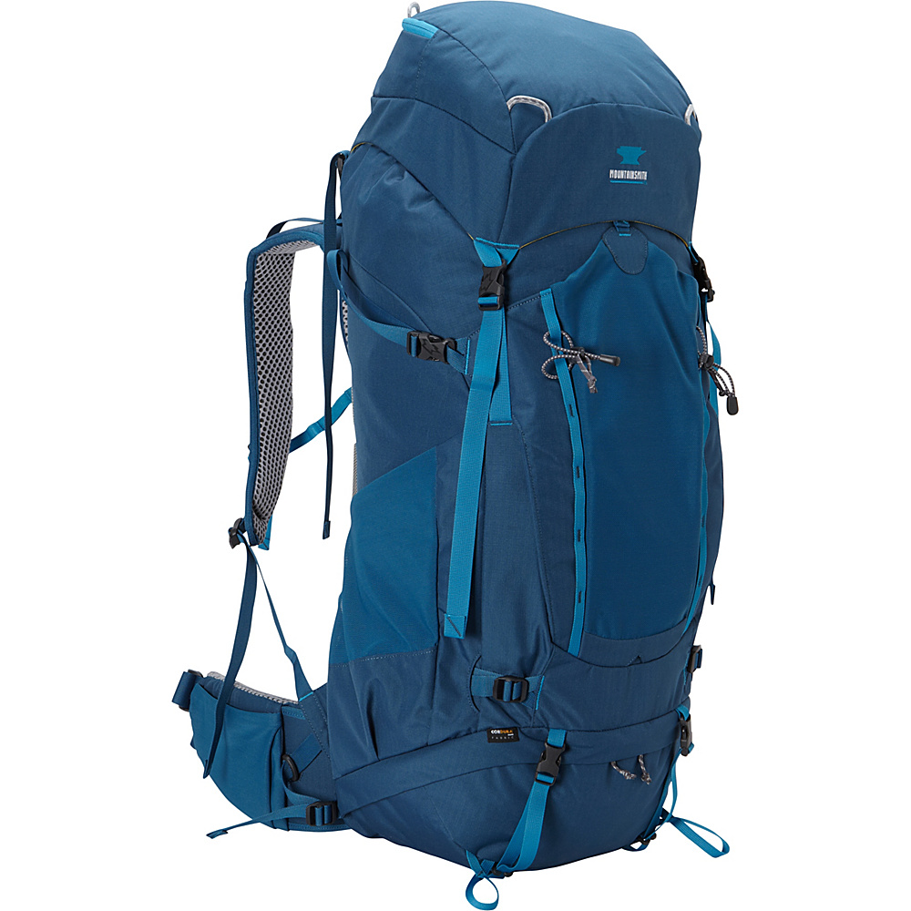 Mountainsmith Apex 80 Hiking Backpack Moroccan Blue Mountainsmith Day Hiking Backpacks