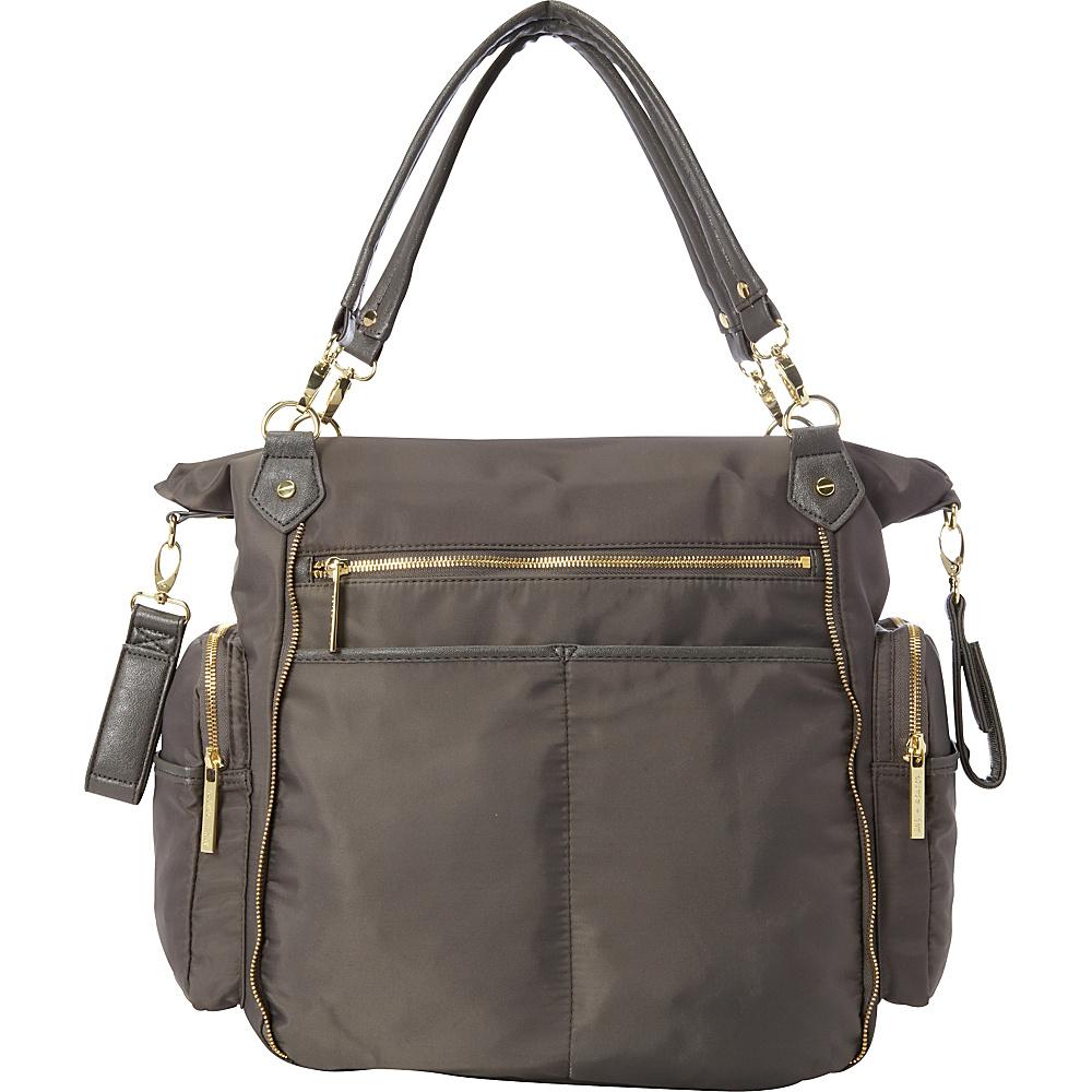Olivia + Joy Portia Baby Bag Graphite - Olivia + Joy Diaper Bags & Accessories