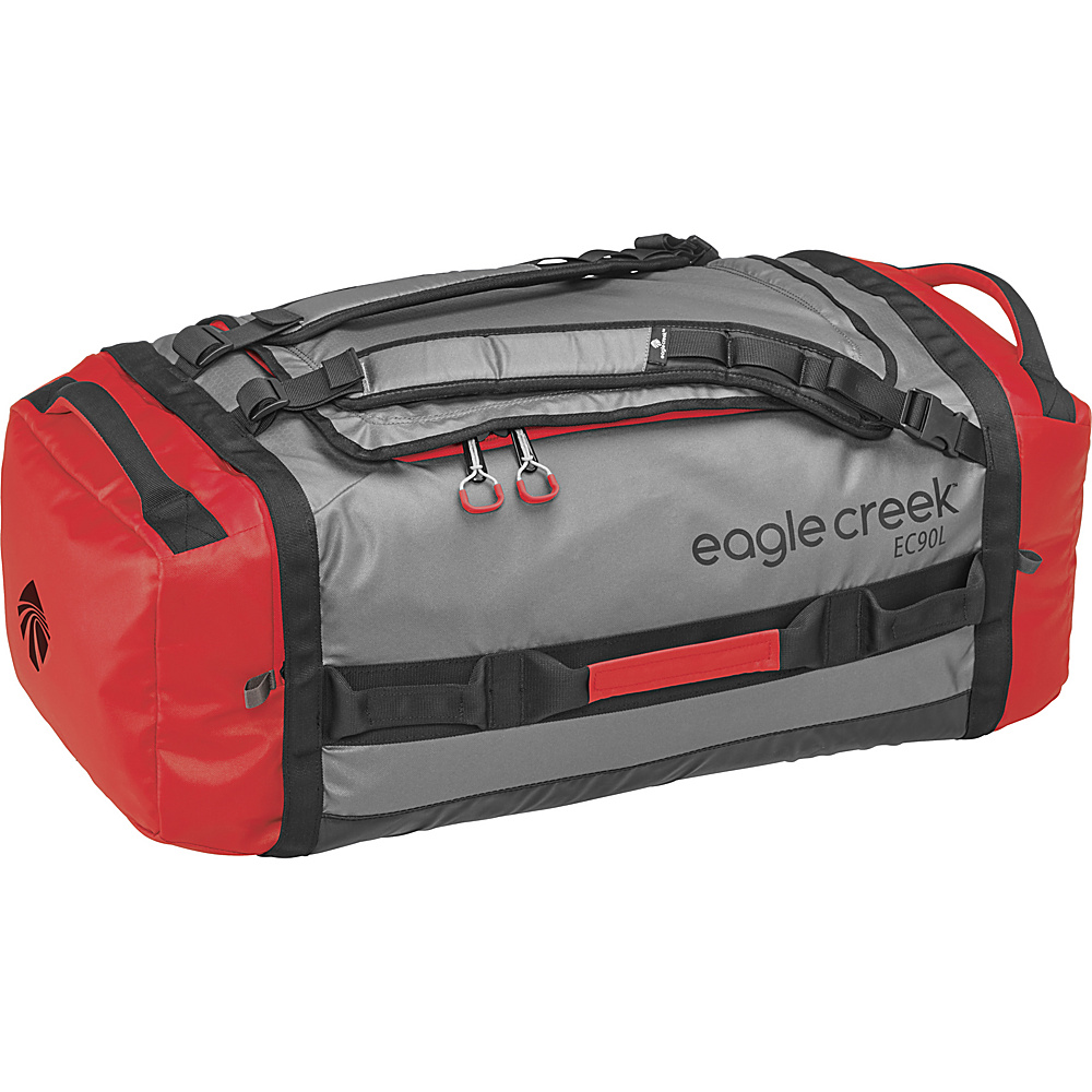 Eagle Creek Cargo Hauler Duffel 90L / L Cherry/Grey - Eagle Creek Outdoor Duffels - Duffels, Outdoor Duffels