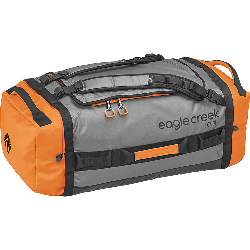 Eagle Creek Cargo Hauler Duffel 90L / L Orange/Grey - Eagle Creek Outdoor Duffels - Duffels, Outdoor Duffels