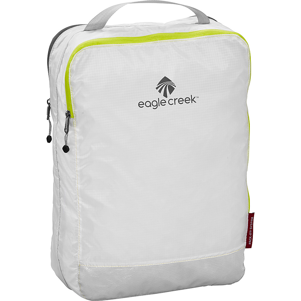 Eagle Creek Pack-It Specter Clean Dirty Cube White/Strobe - Eagle Creek Travel Organizers - Travel Accessories, Travel Organizers