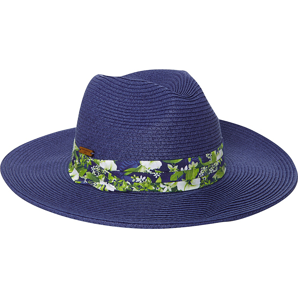 Caribbean Joe Accessories Figi Breeze Hat Blue - Caribbean Joe Accessories Hats/Gloves/Scarves