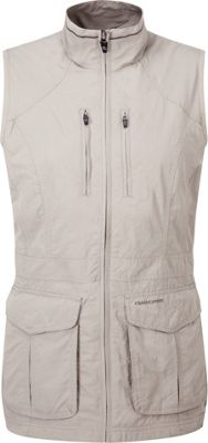 Craghoppers Nat Geo Nosilife Jiminez Gilet 6 - Mushroom - Craghoppers Women's Apparel