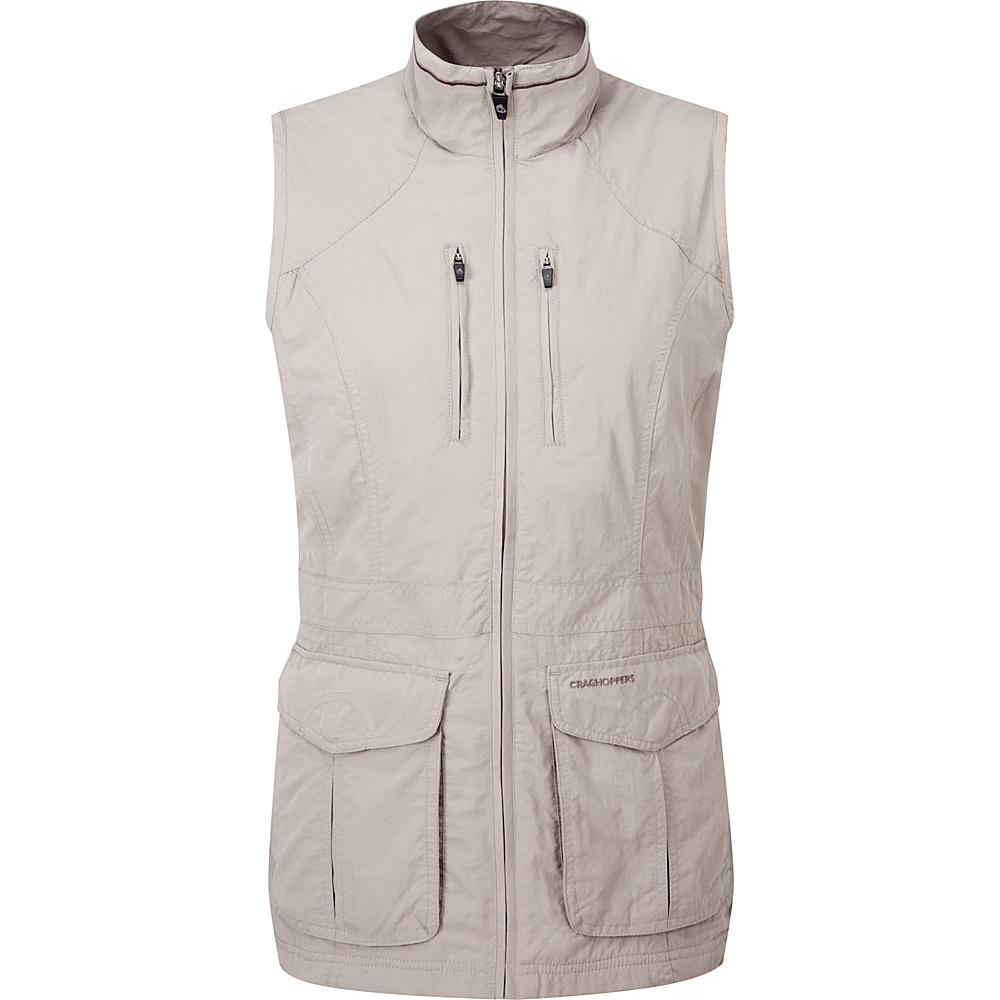 Craghoppers Nat Geo Nosilife Jiminez Gilet 10 Mushroom Craghoppers Women s Apparel