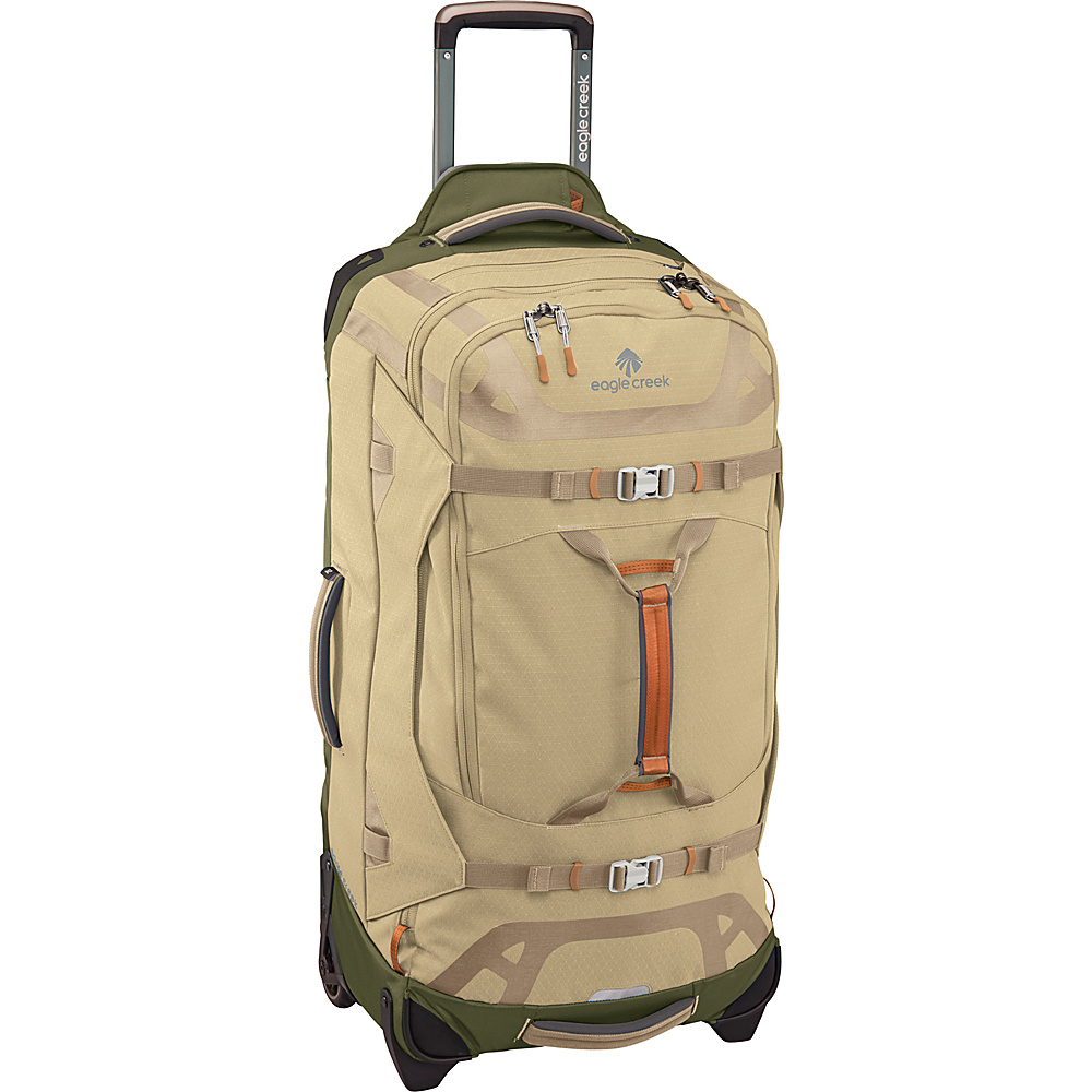 Eagle Creek Gear Warrior 32 Wheeled Duffel Bag Tan/Olive - Eagle Creek Softside Checked - Luggage, Softside Checked