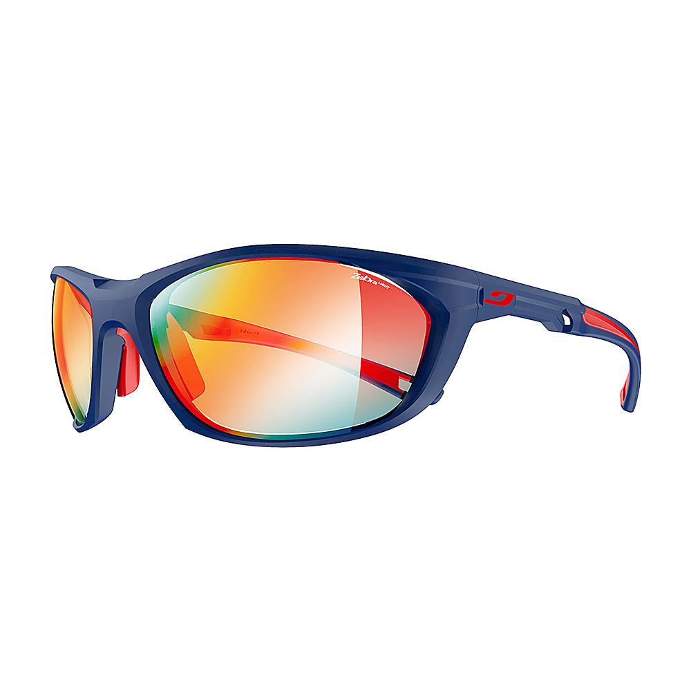 Julbo Race 2.0 With Zebra Lens Blue Red Julbo Sunglasses