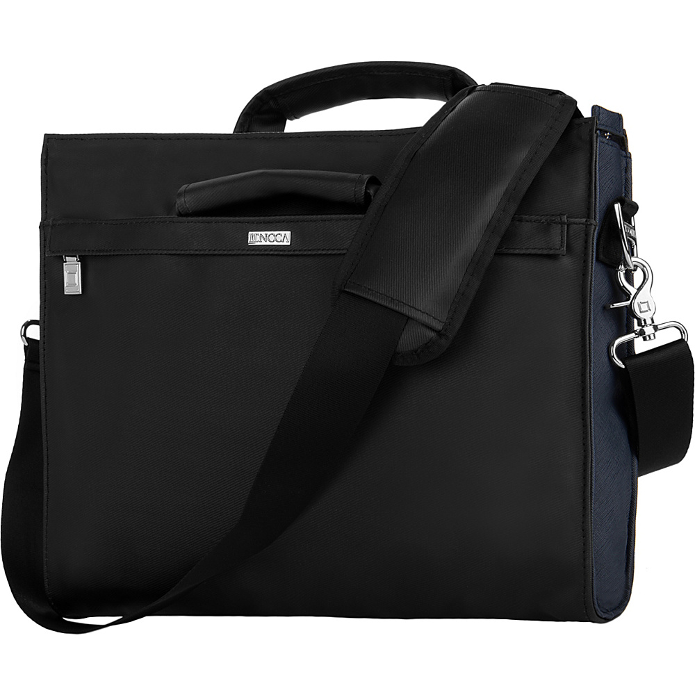 Lencca Brink Messenger Briefcase Bag for 12 13 Devices Black Lencca Non Wheeled Business Cases