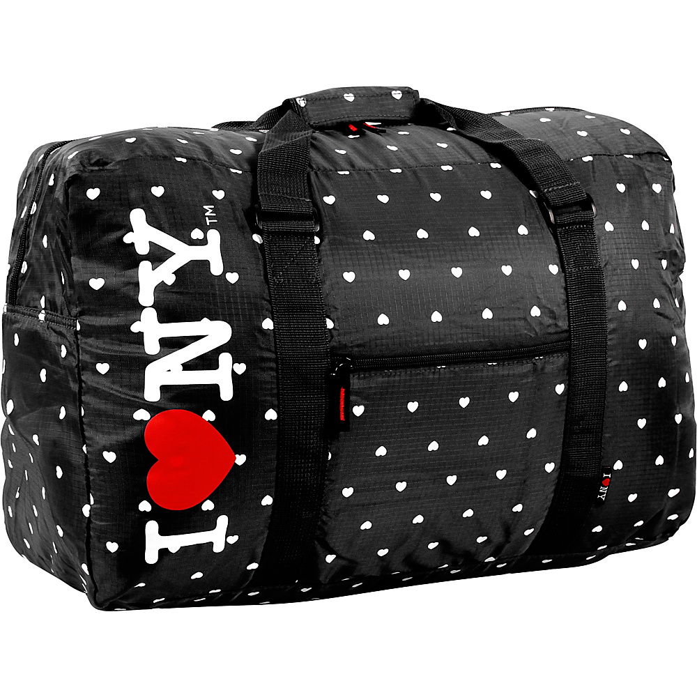 J World New York ILNY Duffel Bag Black - J World New York Rolling Duffels - Luggage, Rolling Duffels