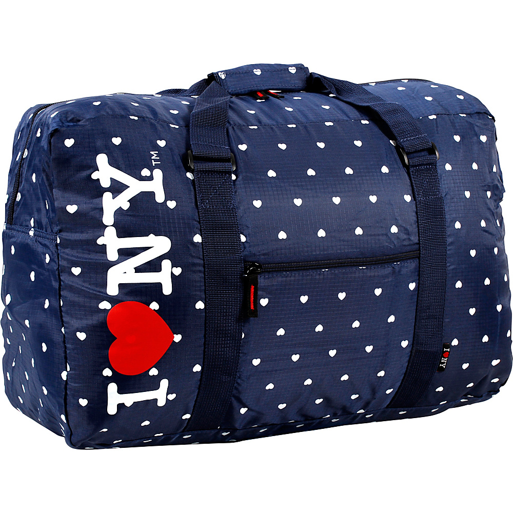 J World New York ILNY Duffel Bag Navy - J World New York Rolling Duffels - Luggage, Rolling Duffels