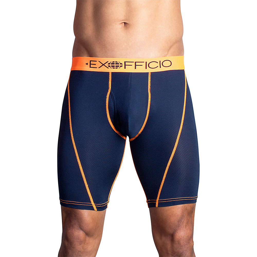ExOfficio Give-N-Go Sport Mesh 9 Boxer Brief S - Curfew - ExOfficio Mens Apparel - Apparel & Footwear, Men's Apparel