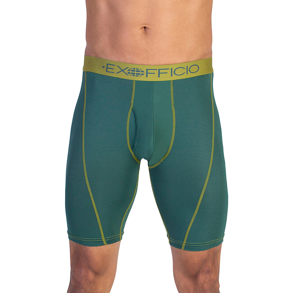 ExOfficio Give-N-Go Sport Mesh 9 Boxer Brief S - Petrol - ExOfficio Mens Apparel - Apparel & Footwear, Men's Apparel