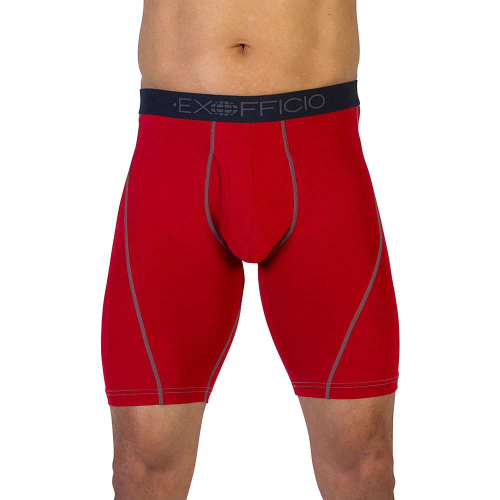 ExOfficio Give-N-Go Sport Mesh 9 Boxer Brief XL - Stop - ExOfficio Mens Apparel - Apparel & Footwear, Men's Apparel