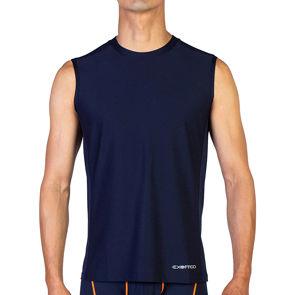 ExOfficio Give-N-Go Sport Mesh Sleeveless Crew L - Curfew - ExOfficio Mens Apparel - Apparel & Footwear, Men's Apparel