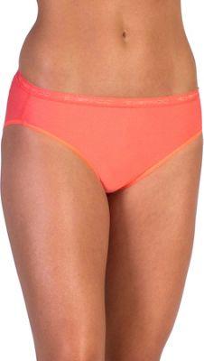 ExOfficio Give-N-Go Bikini Brief XS - Hot Coral - ExOfficio Women's Apparel