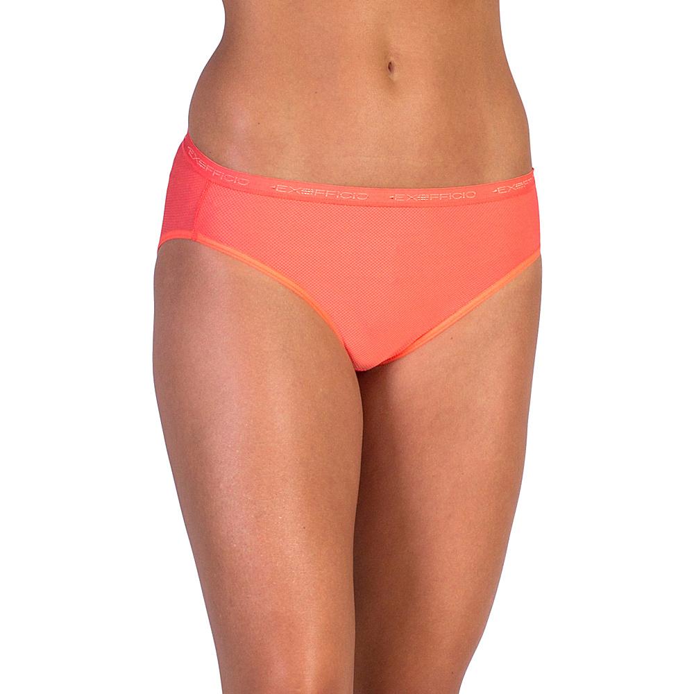 ExOfficio Give N Go Bikini Brief L Hot Coral ExOfficio Women s Apparel