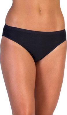 ExOfficio Give-N-Go Bikini Brief XS - Black - ExOfficio Women's Apparel