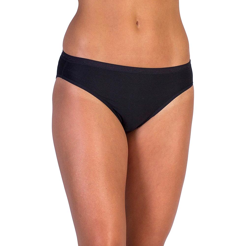 ExOfficio Give-N-Go Bikini Brief M - Black - ExOfficio Womens Apparel - Apparel & Footwear, Women's Apparel