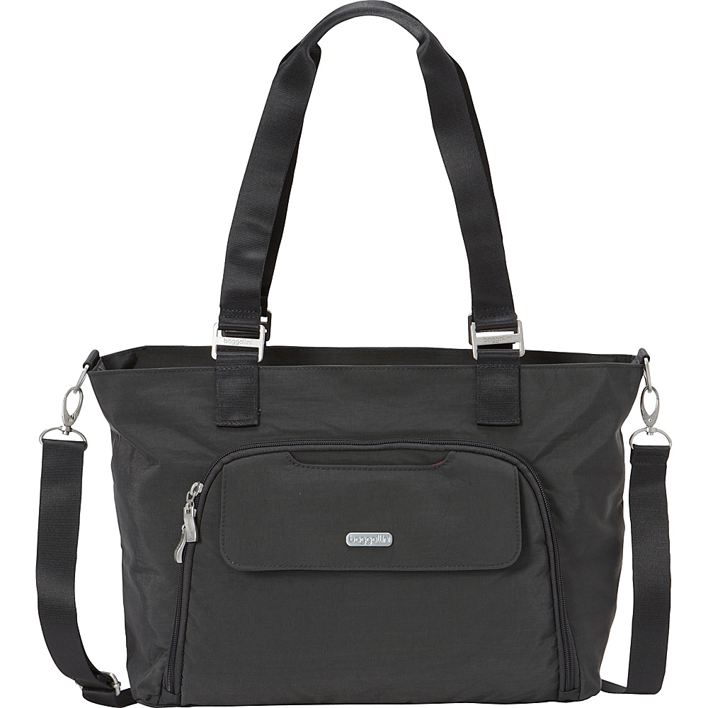 baggallini Unity Tote- Exclusive Charcoal - baggallini Fabric Handbags - Handbags, Fabric Handbags
