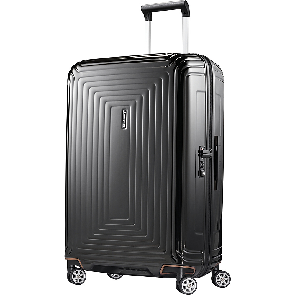 Samsonite Neopulse Hardside Spinner 28 Metallic Black Samsonite Hardside Checked