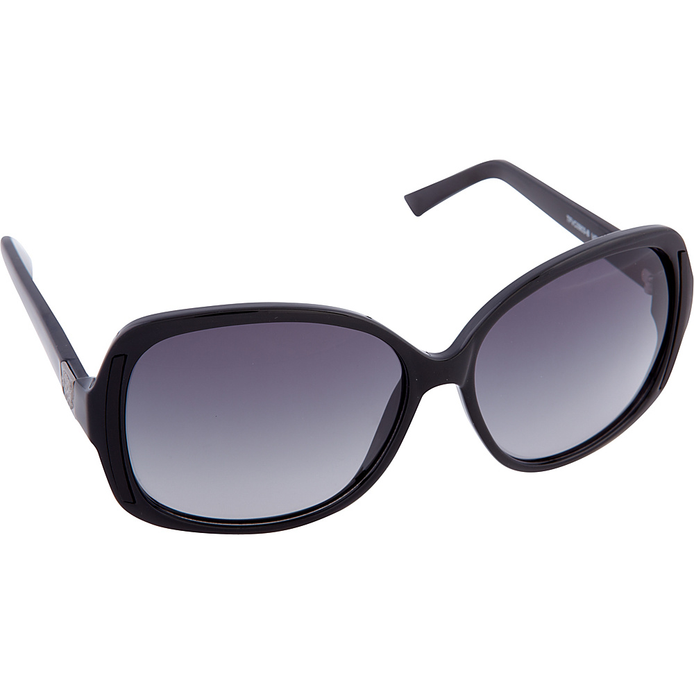 Vince Camuto Eyewear VC683 Sunglasses Black Vince Camuto Eyewear Sunglasses