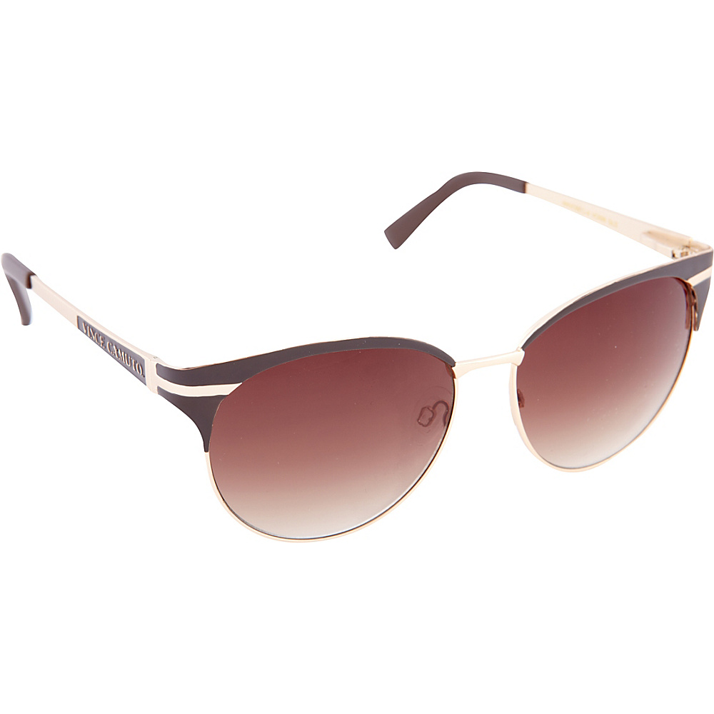 Vince Camuto Eyewear VC699 Sunglasses Gold Vince Camuto Eyewear Sunglasses