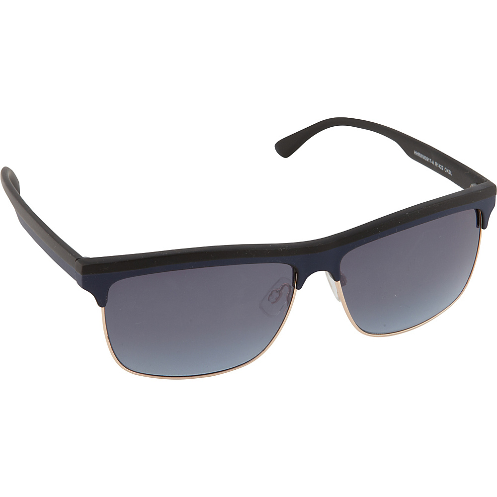 Rocawear Sunwear R1422 Men's Sunglasses Black Blue - Rocawear Sunwear Sunglasses
