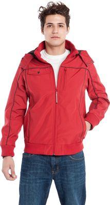 BAUBAX Men's Bomber Jacket M - Red - BAUBAX Men's Apparel