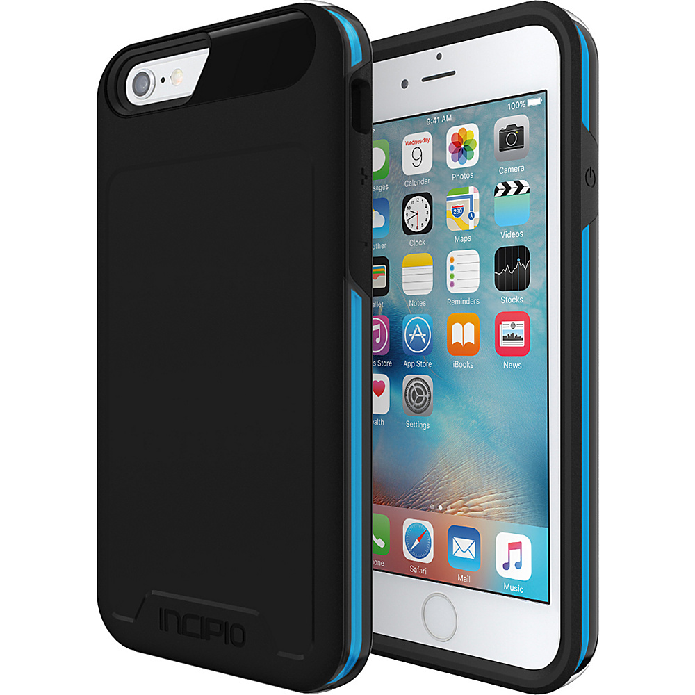 Incipio Performance Series Level 4 for iPhone 6/6s Black/Cyan - Incipio Electronic Cases - Technology, Electronic Cases