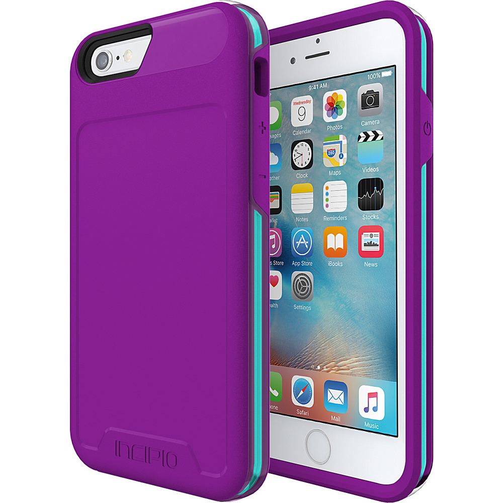 Incipio Performance Series Level 4 for iPhone 6/6s Purple/Teal - Incipio Electronic Cases - Technology, Electronic Cases