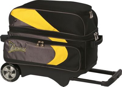 Track Premium Player Two Ball Roller Yellow/Grey/Black - Track Bowling Bags