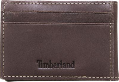 Timberland Wallets Delta Flip Clip Wallet Brown - Timberland Wallets Men's Wallets