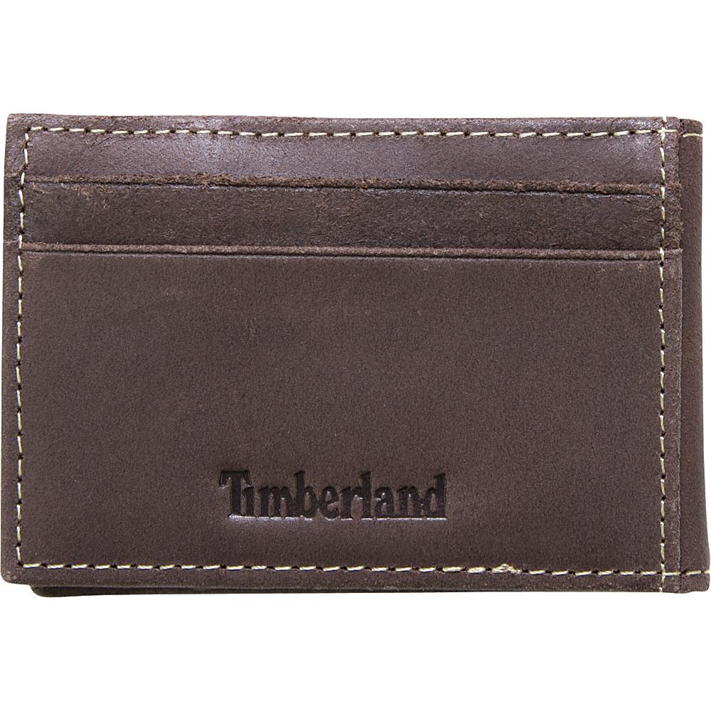 Timberland Wallets Delta Flip Clip Wallet Brown - Timberland Wallets Men's Wallets