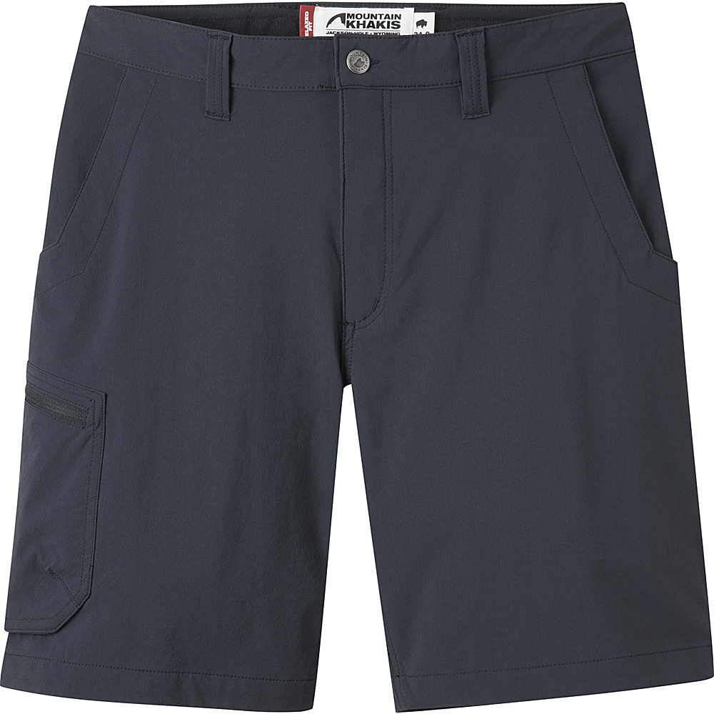 Mountain Khakis Cruiser Shorts 35 - 9in - Black - 10 Petite - Mountain Khakis Mens Apparel - Apparel & Footwear, Men's Apparel