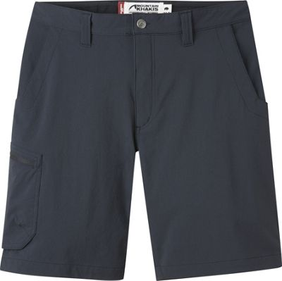 Mountain Khakis Cruiser Shorts 32 - 9in - Black - 10 Petite - Mountain Khakis Men's Apparel