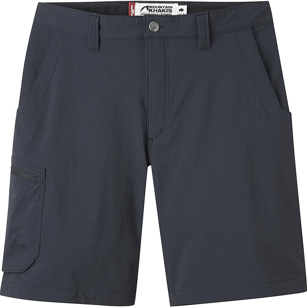 Mountain Khakis Cruiser Shorts 32 - 9in - Black - 10 Petite - Mountain Khakis Mens Apparel - Apparel & Footwear, Men's Apparel