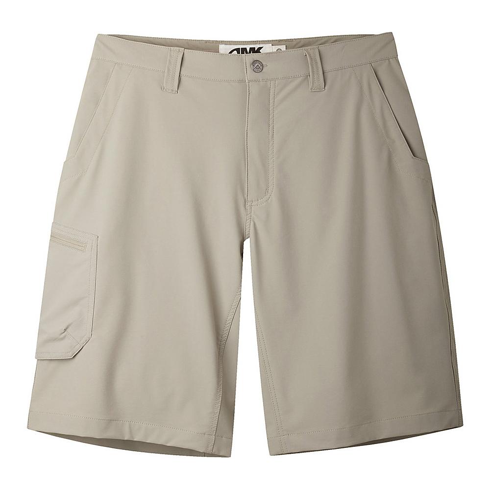 Mountain Khakis Cruiser Shorts 35 - 9in - Truffle - 10 Petite - Mountain Khakis Mens Apparel - Apparel & Footwear, Men's Apparel