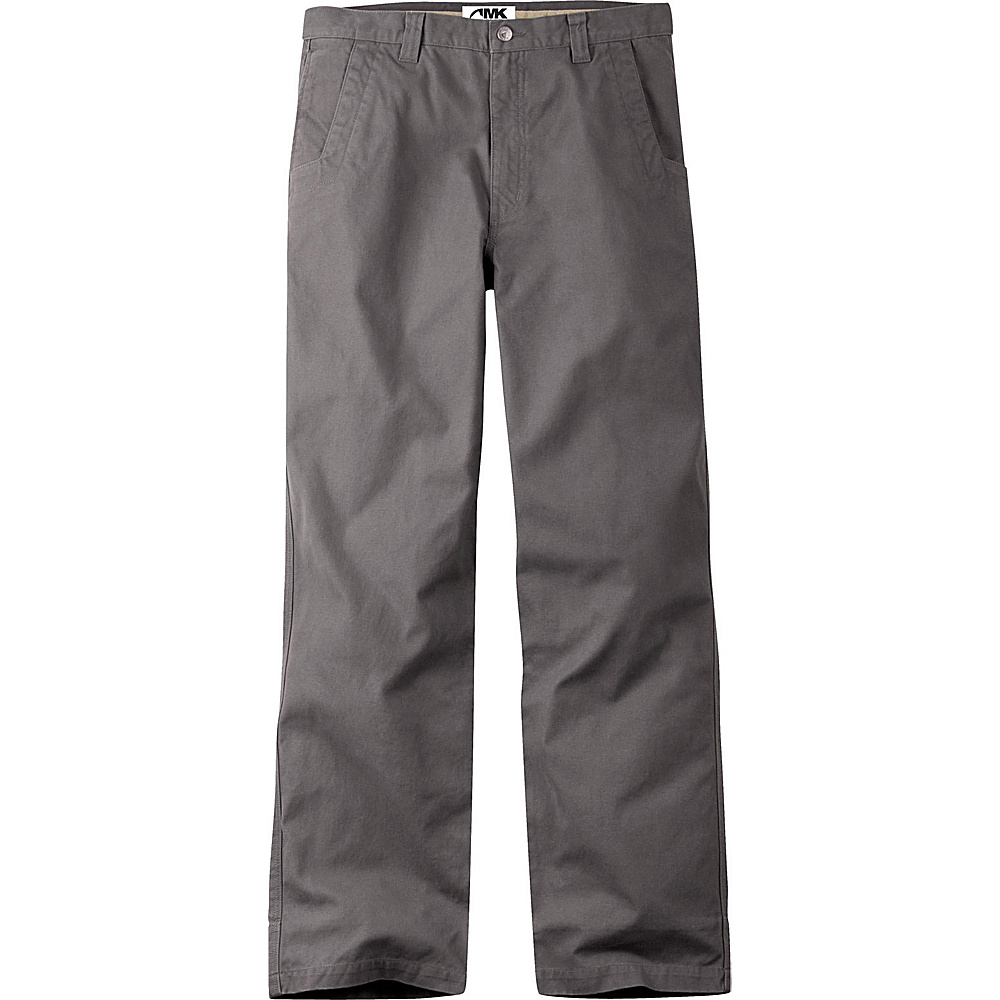 Mountain Khakis Original Mountain Pants 34 - 36in - Granite - 31W 30L - Mountain Khakis Mens Apparel - Apparel & Footwear, Men's Apparel