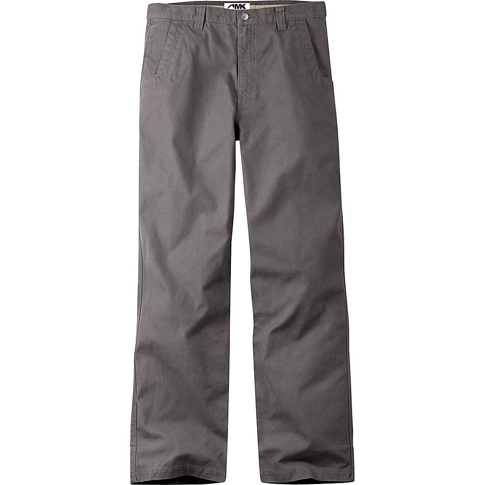 Mountain Khakis Original Mountain Pants 35 - 30in - Granite - 31W 30L - Mountain Khakis Mens Apparel - Apparel & Footwear, Men's Apparel