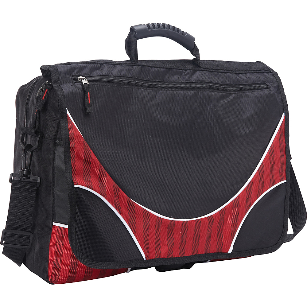 Goodhope Bags The City Damiers TSA Messenger Red Goodhope Bags Messenger Bags