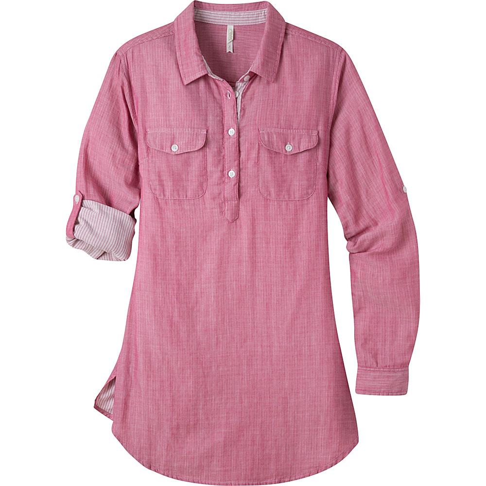 Mountain Khakis Two Ocean Tunic Shirt S - Sangria - Mountain Khakis Womens Apparel - Apparel & Footwear, Women's Apparel