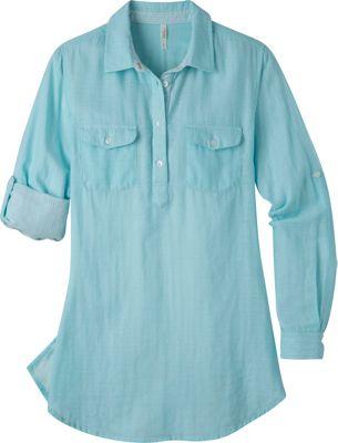 Mountain Khakis Two Ocean Tunic Shirt S - Glacier - Mountain Khakis Women's Apparel